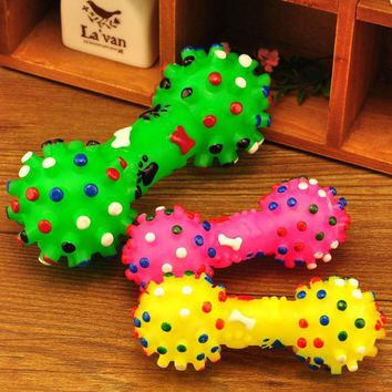 Chews Toys Factory Price 13cm Cute Pet Dog Puppy Cat Chews Toy Squeaker Squeaky Sound Play Cachorro Dog Toys Pet Supplies Ramdon