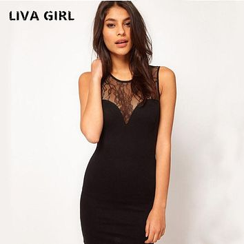 Women's Lace Dresses Best-Selling Popular Sexy Charming Halter Dress Slim Nightclub Party Jacquard Sleeveless Black Dress Women