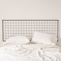 Grid Metal Headboard - Urban Outfitters