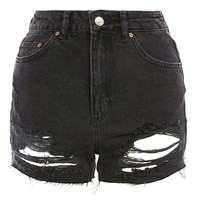 MOTO Ripped Mom Shorts | Topshop
