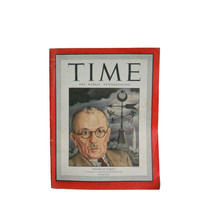 "Vintage Magazine 1940s Time Magazine - July 12, 1943 Vol. 42 No. 2 World War 2 News - ""Premier of Turkey"""