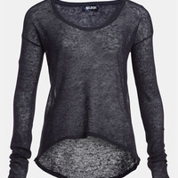 Tildon Sheer High/Low Pullover | Nordstrom