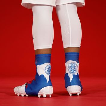 Wyoming State Flag Spats / Cleat Covers