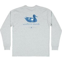Palmetto Moon | Southern Marsh South Carolina Longsleeve T-shirt | Palmetto Moon
