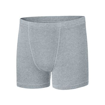 Boys' Hanes Ultimate Dyed Boxer Brief with ComfortSoft Waistband Assorted Black & Grey 4-Pack