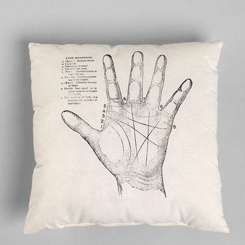 Urban Outfitters - The Rise and Fall Palmistry Pillow