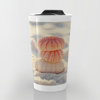 Sea Urchins Travel Mug by Erin Johnson