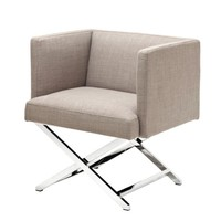 Beige Lounge Chair | Eichholtz Dawson
