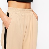 ASOS Tailored Jogger With Side Stripe