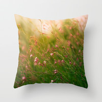 Summer's End Throw Pillow by Ann B.