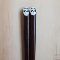 Japanese Chopsticks Panda Friends