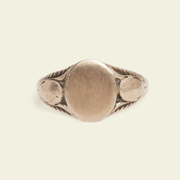 "Winged Scarab ""Mackinac"" Signet Ring"