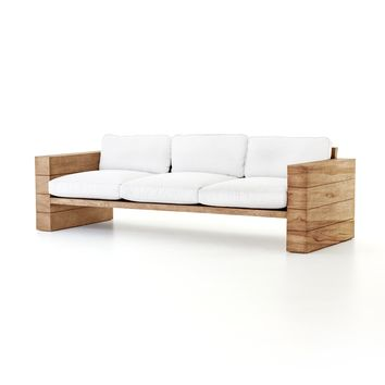 KYLA OUTDOOR SOFA - CANVAS WHITE