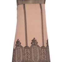 Nude/black peterpan dress - Dresses -View All Sale- Sale  Offers - Dorothy Perkins