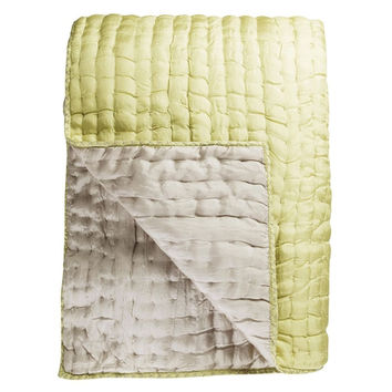 Designers Guild Chenevard Silver & Willow Quilt & Shams