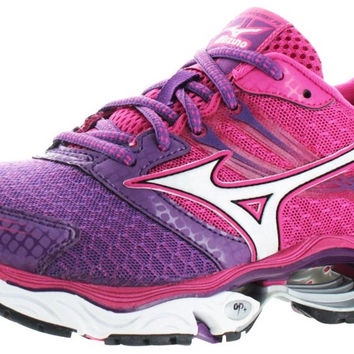 Mizuno Women's Wave Creation 14 Running Shoe Purple/Pink 6 B(M) US