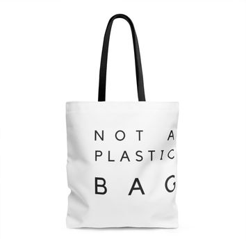"""Not A Plastic Bag"" Shopping Tote"