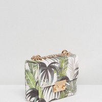New Look Botanical Floral Chain Bag at asos.com