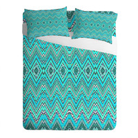 Ingrid Padilla Turquoise Whim Sheet Set