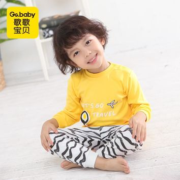 Striped Kit For Children Baby Pajamas Set Clothes For Newborn Girl Baby Infant Clothing Sets Boy Clothes Sleepwear Spring Outfit