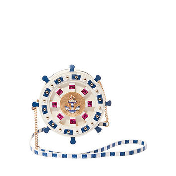 KITSCH SEAS THE DAY CROSSBODY: Betsey Johnson