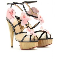 mytheresa.com -  Charlotte Olympia - BOTANICA PAM PLATFORM PUMPS - Luxury Fashion for Women / Designer clothing, shoes, bags