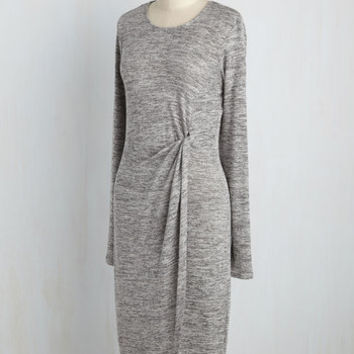 Waist Knot, Want Not Sweater Dress | Mod Retro Vintage Dresses | ModCloth.com