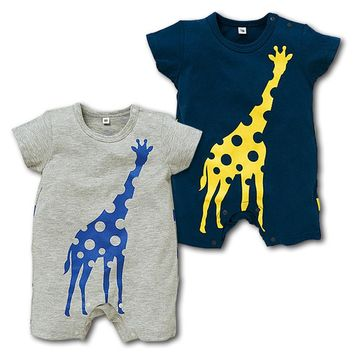 Giraffe Blue/Grey 2 colors one piece