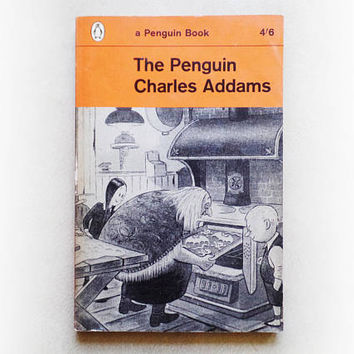 Charles Addams - The Penguin Charles Addams - Illustrated Addams Family fiction vintage paperback book - 1962
