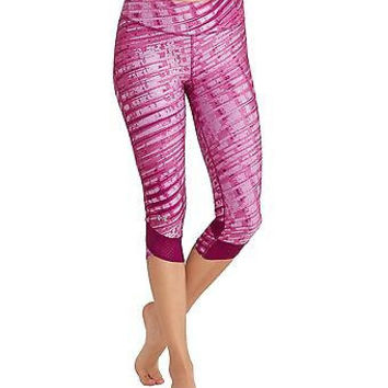 Under Armour Women's UA Printed Fly-By Compression Capri X-Large Black