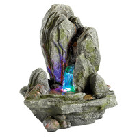 Park Avenue Collection Boulder Falls Cascading Fountain