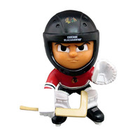"Chicago Blackhawks NHL Lil Teammates Vinyl Goalie"" Sports Figure (2 3/4"" Tall) (Series 3)"""