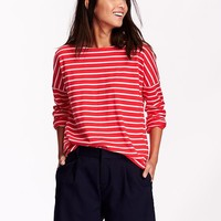 Old Navy Relaxed Boat Neck Tee