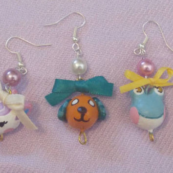 Custom Animal Crossing Earrings Choose Your Favorite Dreamie Villager