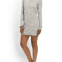 Space Dye Mini Sweater Dress - Women - T.J.Maxx