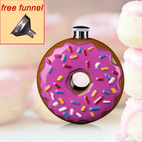 Donuts Flask 10 oz Stainless Steel