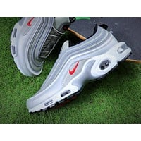 Nike Air Max 97 PLUS Silver Retro Sneaker AH8143-001 Sport Shoes - Sale-1