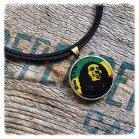 Handmade One Love Bob Marley Necklace