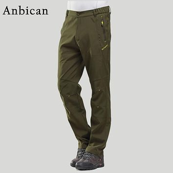 Spring and Autumn Men's Cargo Pants Plus Size M-5XL Zipper Pockets Quick Dry Casual Pants Men Army Miliraty Tactical Trousers