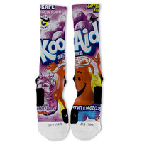 KOOL-AID Fast Shipping!! Nike Elite Socks Customized Koolaid Oh Yeah! Grape