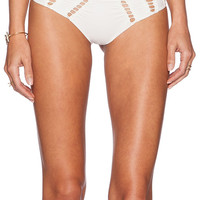 Acacia Swimwear Chuns Bikini Bottom in White