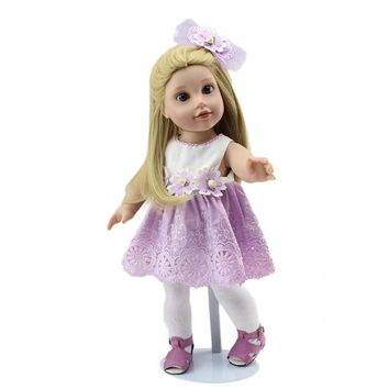 "Right Away  18"" Soft Silicone American Doll"