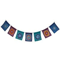 Batik Mandala Prayer Flags