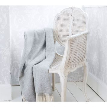 Provencal Rattan White Chair | Bedroom Chair