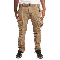 Superdry Entery Military Cargo Pants- Military Green