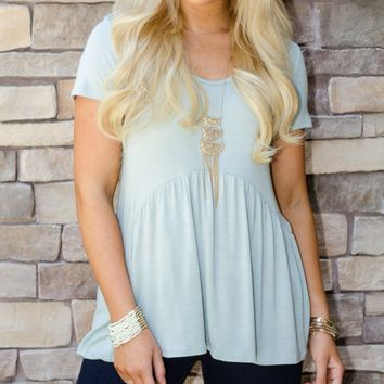 White Short Sleeve Relaxed Fit Tee