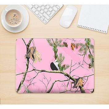 "The Pink Real Camouflage Skin Kit for the 12"" Apple MacBook"
