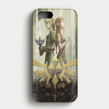 The Legend Of Zelda Wind Waker iPhone SE Case