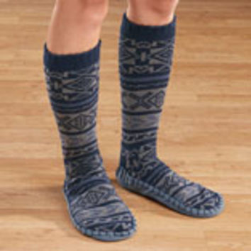 Men's MUK LUKS Slipper Socks