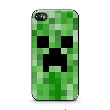 CREEPER MINECRAFT 2 iPhone 4 / 4S Case Cover